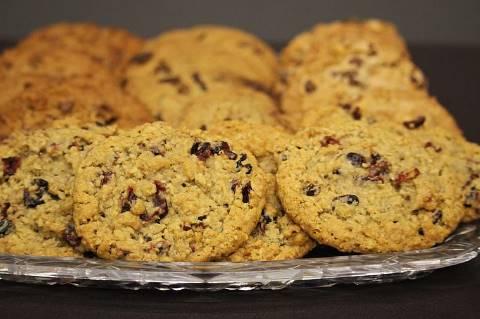 Dadel en banaan koekjes